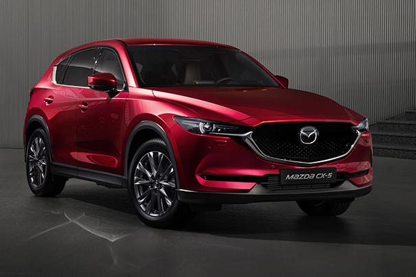 Illustrasjonsbilde av en Mazda CX-5