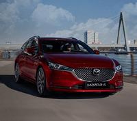 Illustrasjonsbilde av en Mazda6 stasjonsvogn