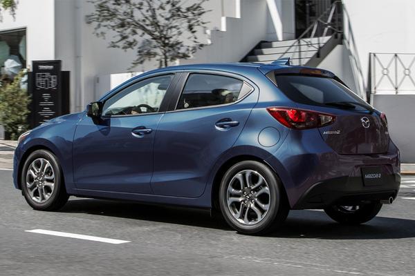 Illustrasjonsbilde av en Mazda2