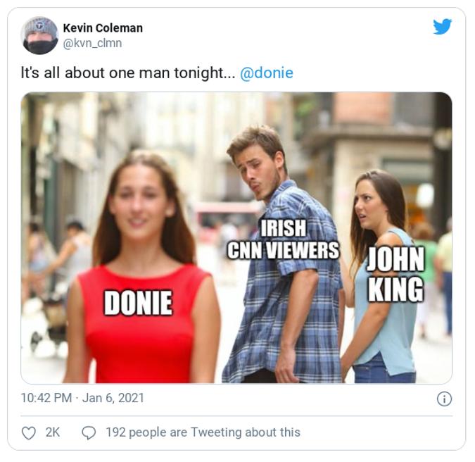 Donie John King