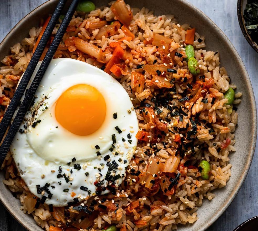 Tasty Kimchi Fried Rice