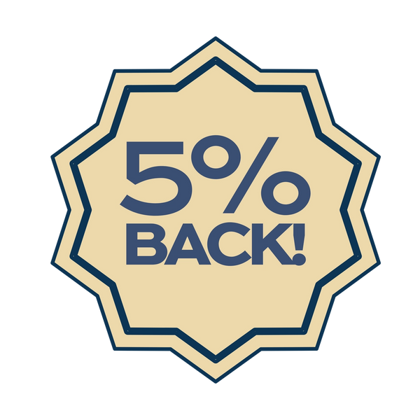 5% back for patients