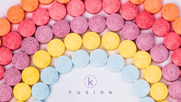 K Fusion Cannabis Chewable Tablets