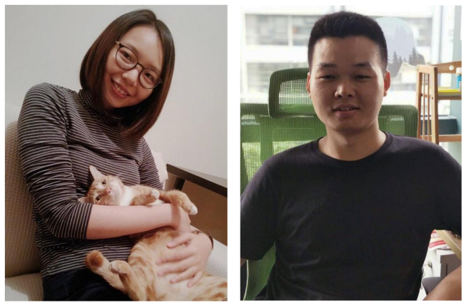 Allison Liu and Logan of the OnePlus Design team