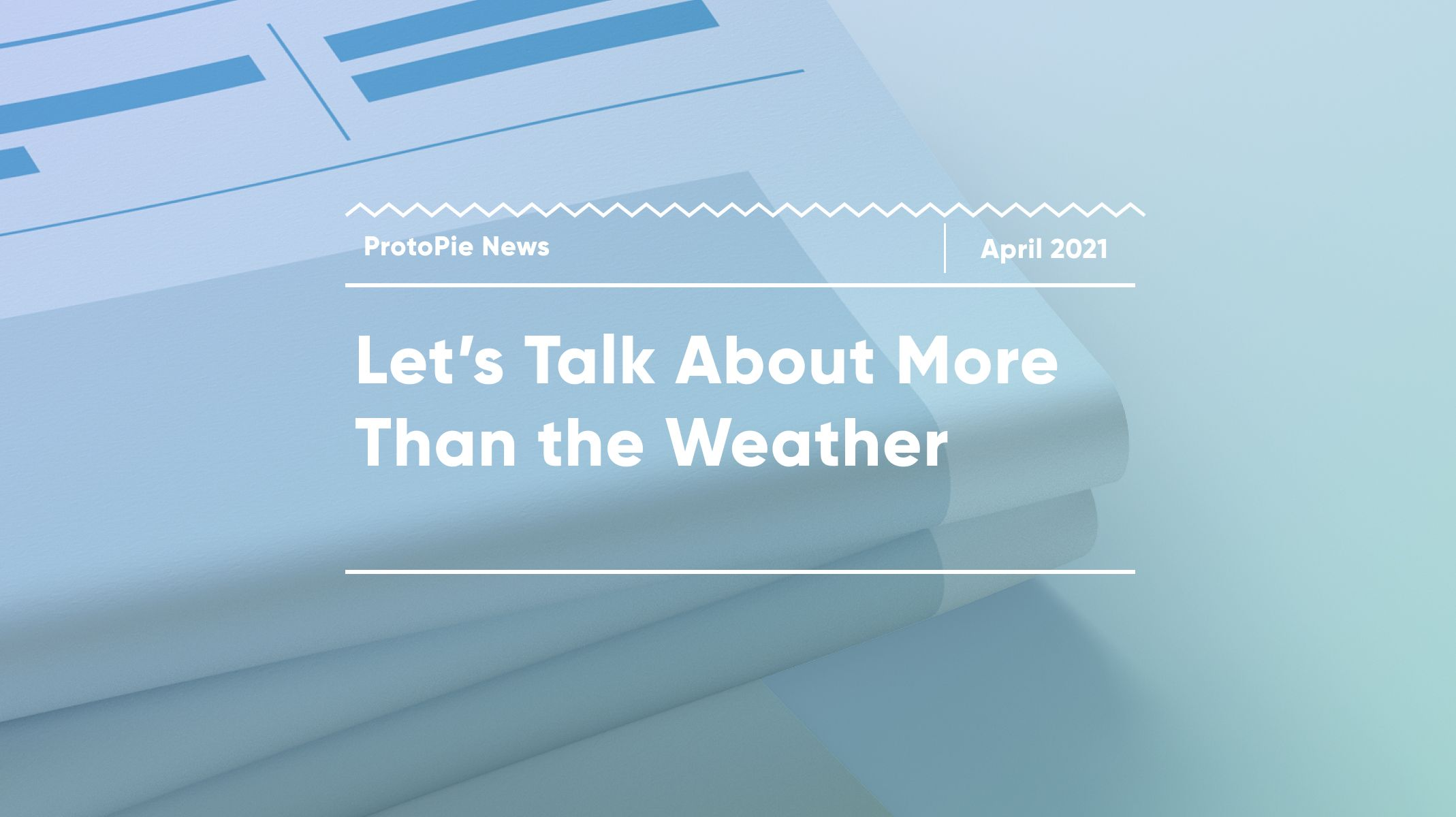let's talk about more than the weather thumbnail