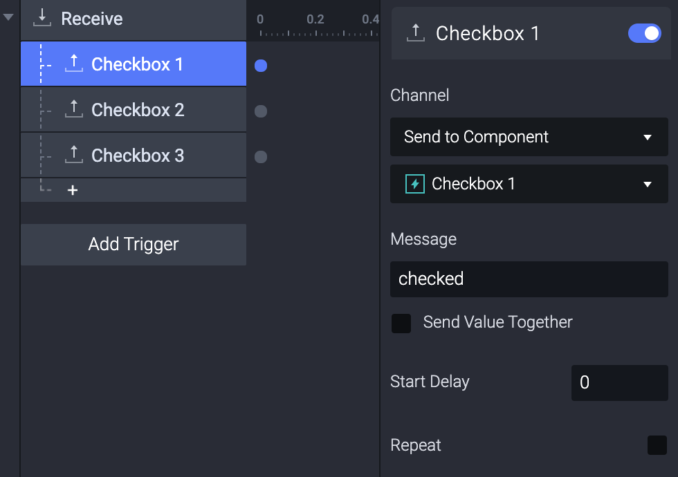 Add a send response to each item individually