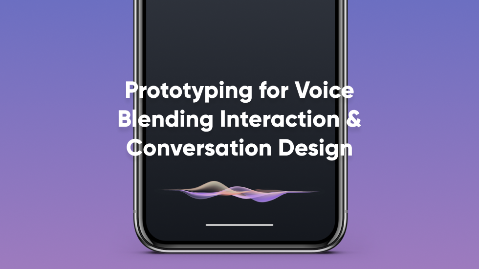 Prototyping for voice blending interaction and conversation design thumbnail