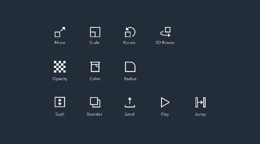 Response icon set