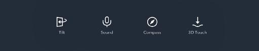 Sensor Trigger Icons