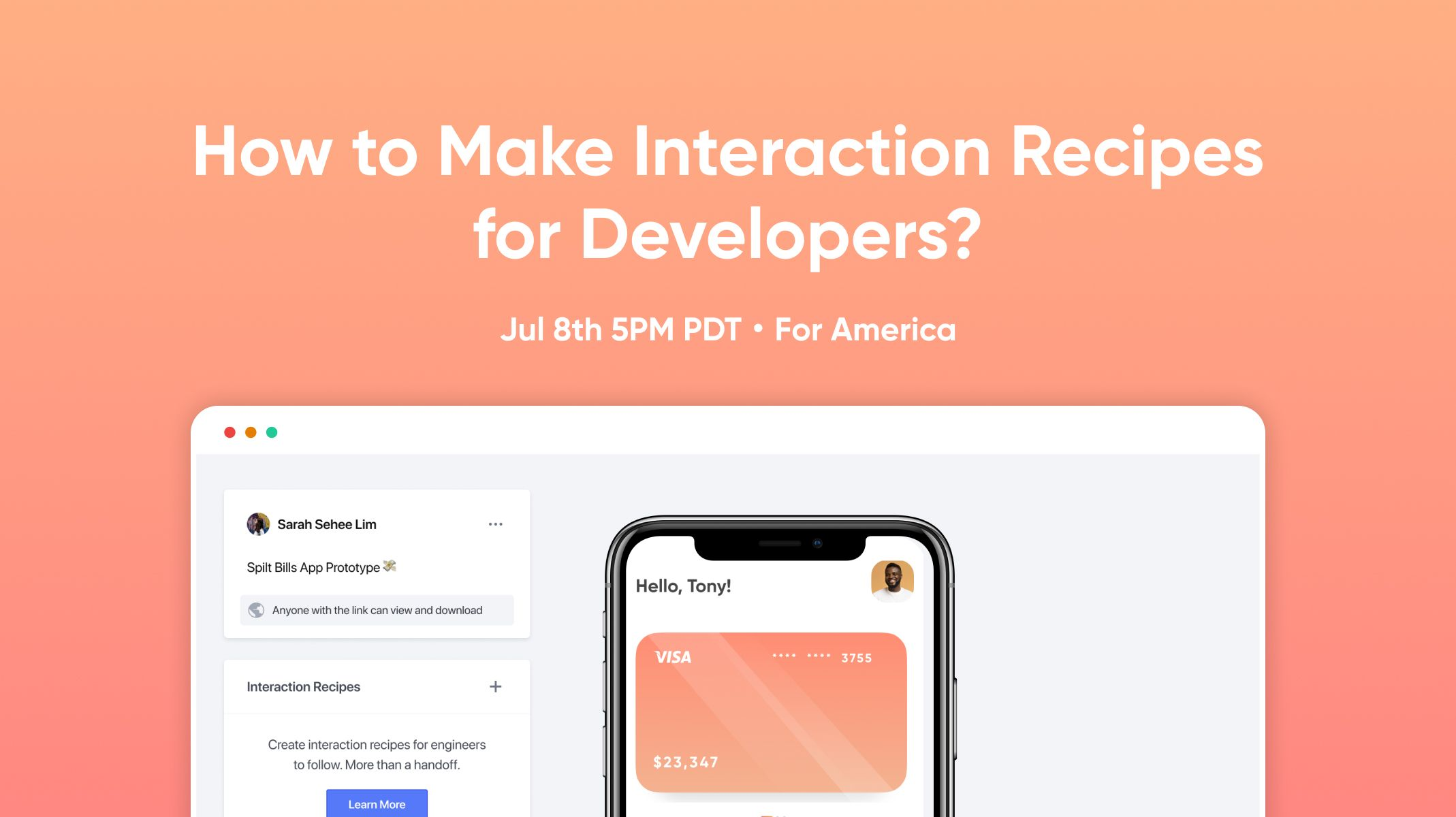 Make Interaction Recipes for Developers workshop thumbnail