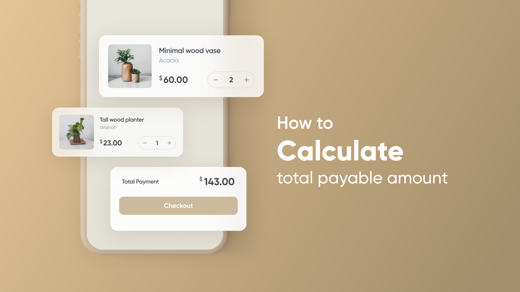 Make calculate the amount interactions using ProtoPie Thumbnail
