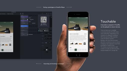 Showcase prototypes on any device right away
