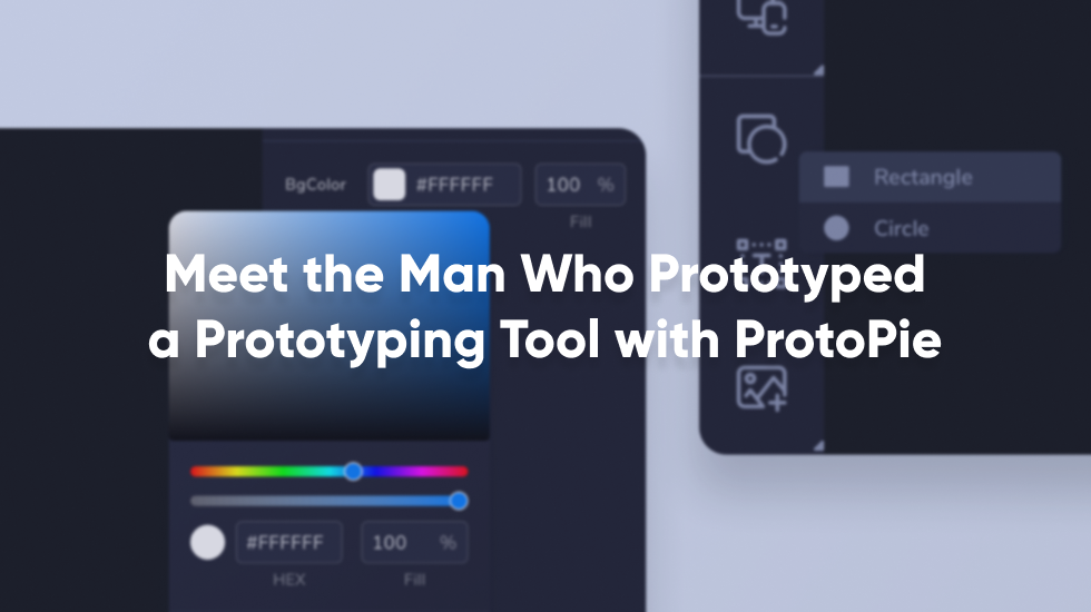 Meet the man who prototyped a prototyping tool with ProtoPie thumbnail