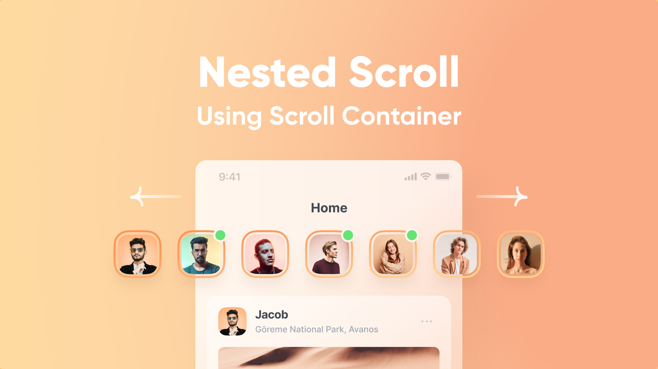 Nested Scroll Using Scroll Container Thumbnail