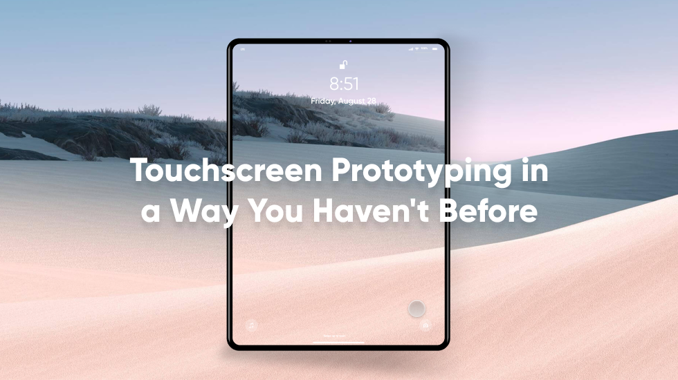 Touchscreen prototyping thumbnail