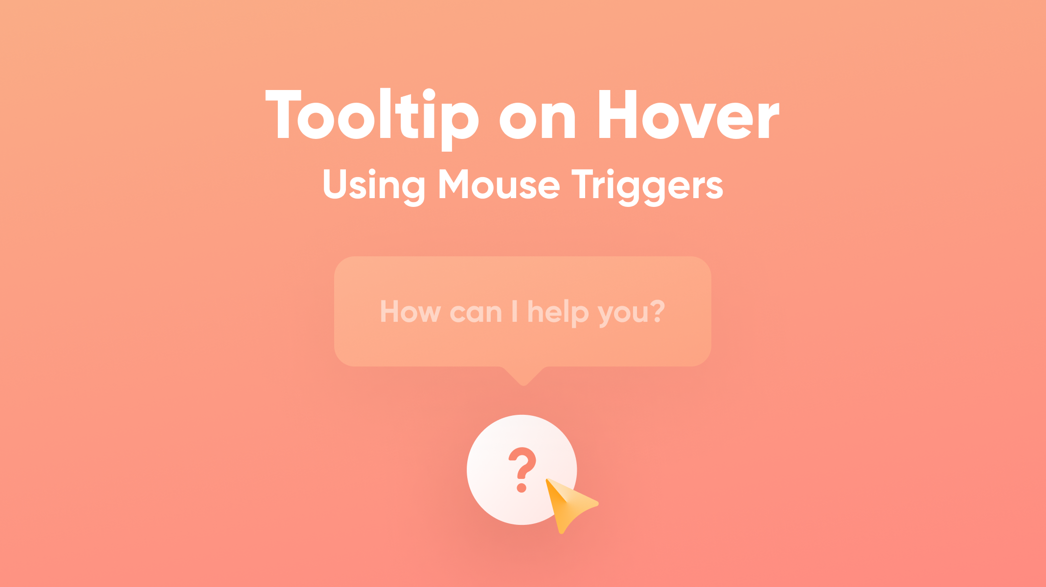 Tooltip on Hover Using Mouse Triggers Thumbnail