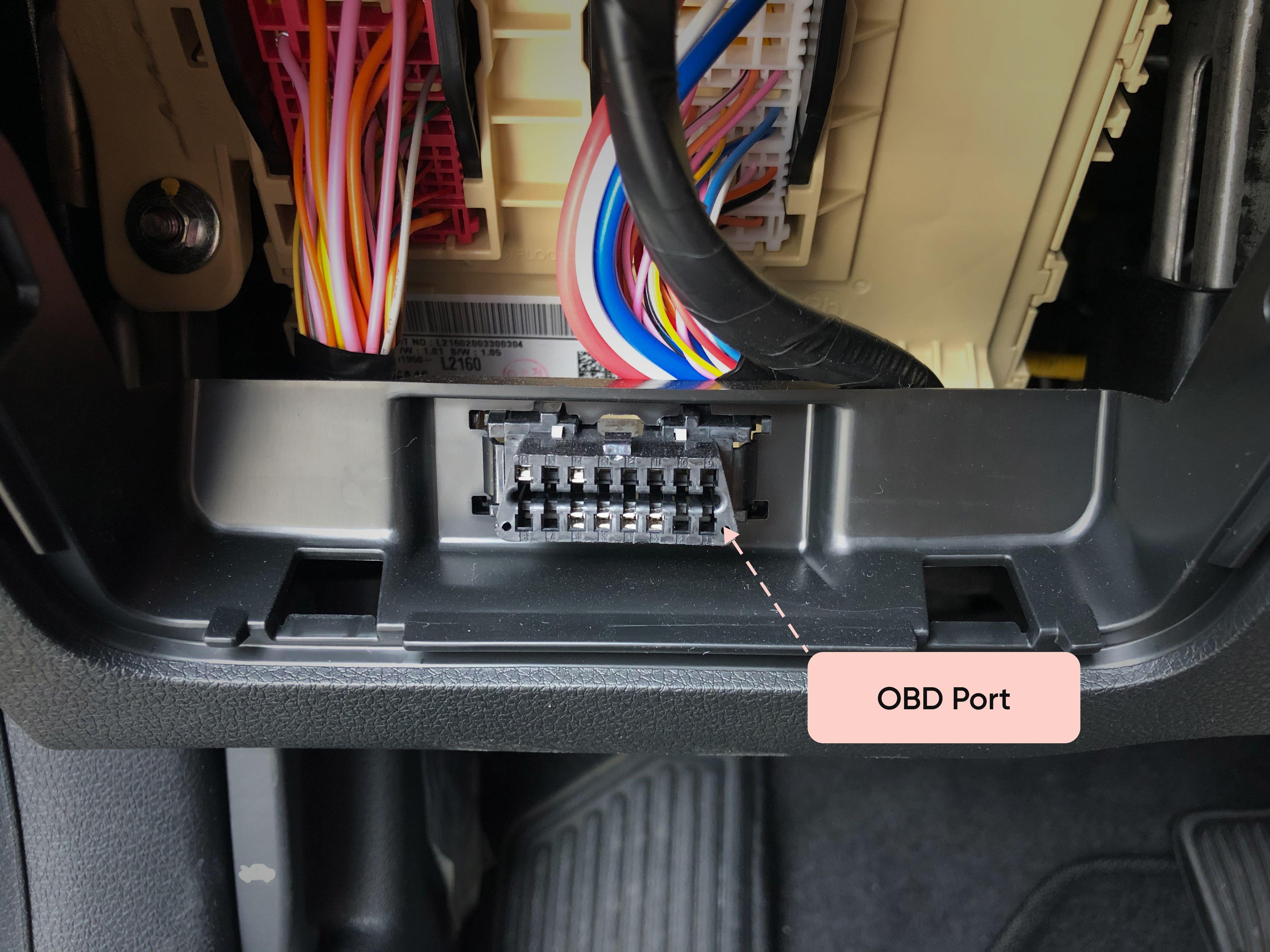 OBD port example