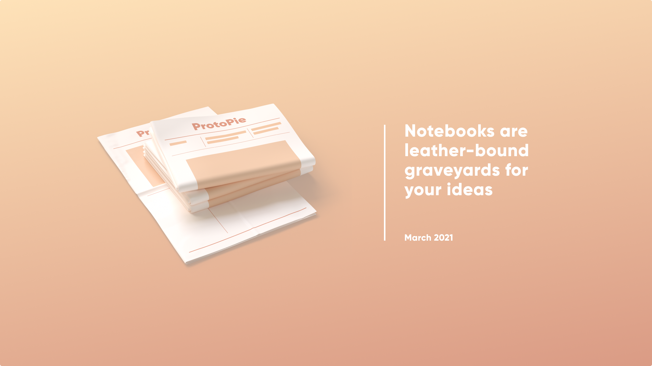 Notebooks are leather-bound graveyards for your ideas thumbnail