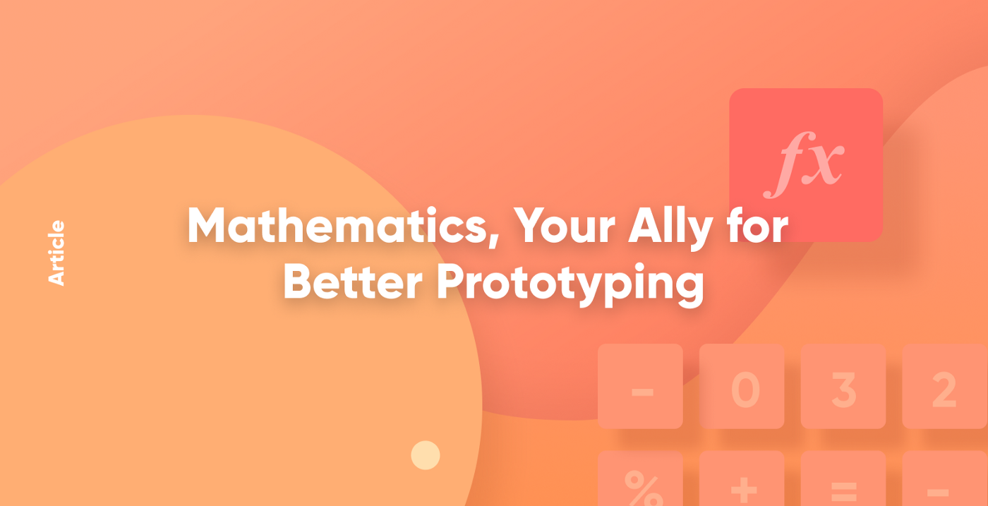 Mathematics, Your Ally for Better Prototyping thumbnail