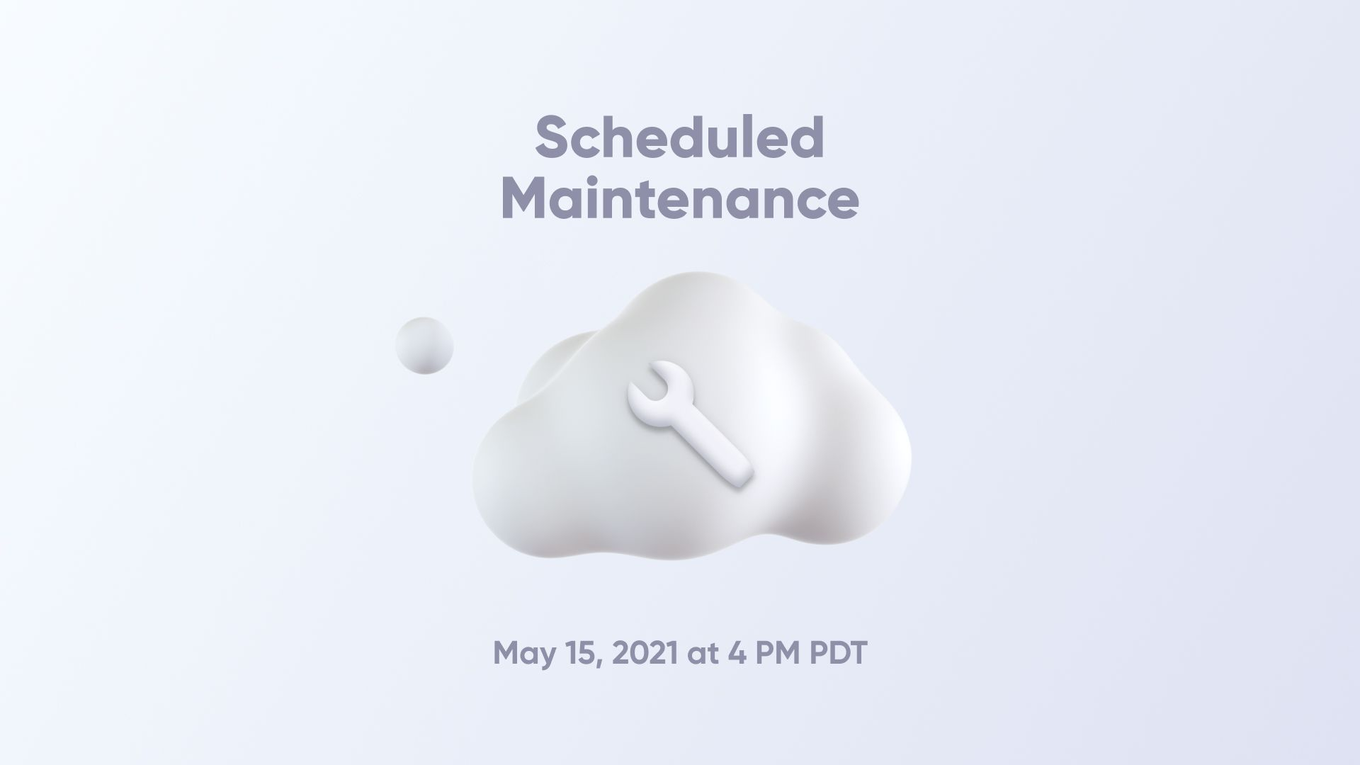 ProtoPie scheduled maintenance on May 15, 2021 thumbnail