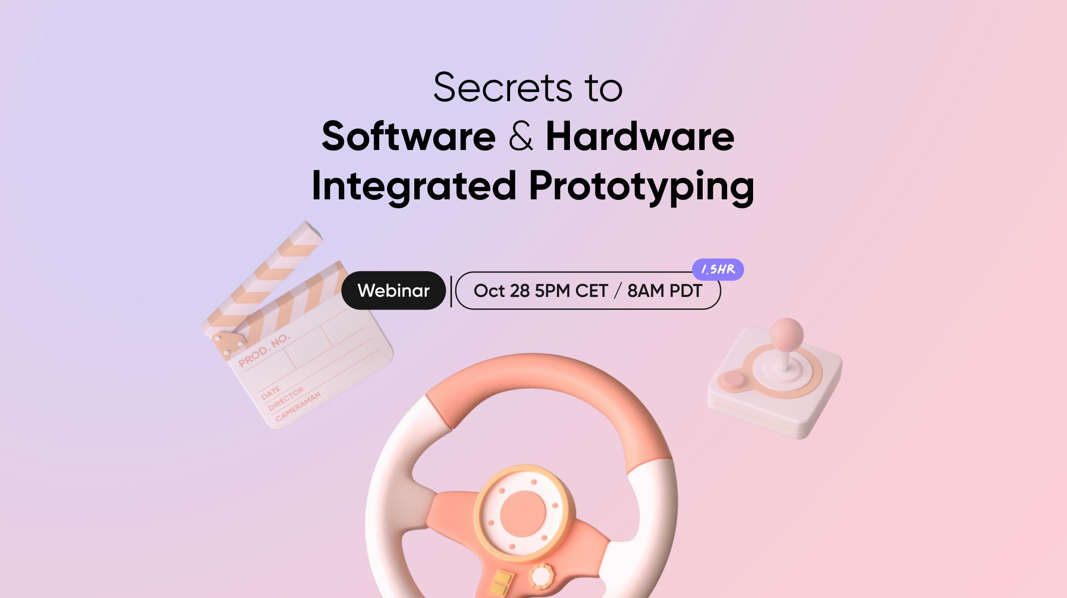 ProtoPie Webinar Secrets to Software & Hardware Integrated Prototyping thumbnail