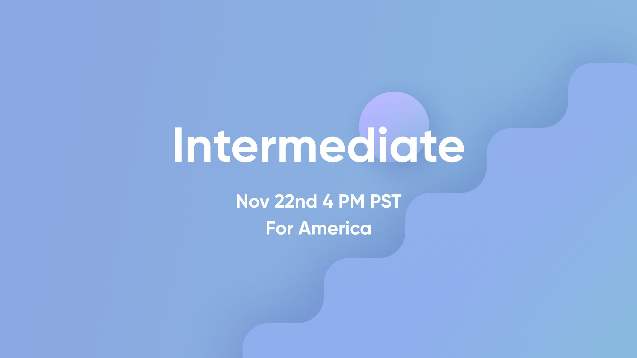 ProtoPie Intermediate Workshop for America thumbnail