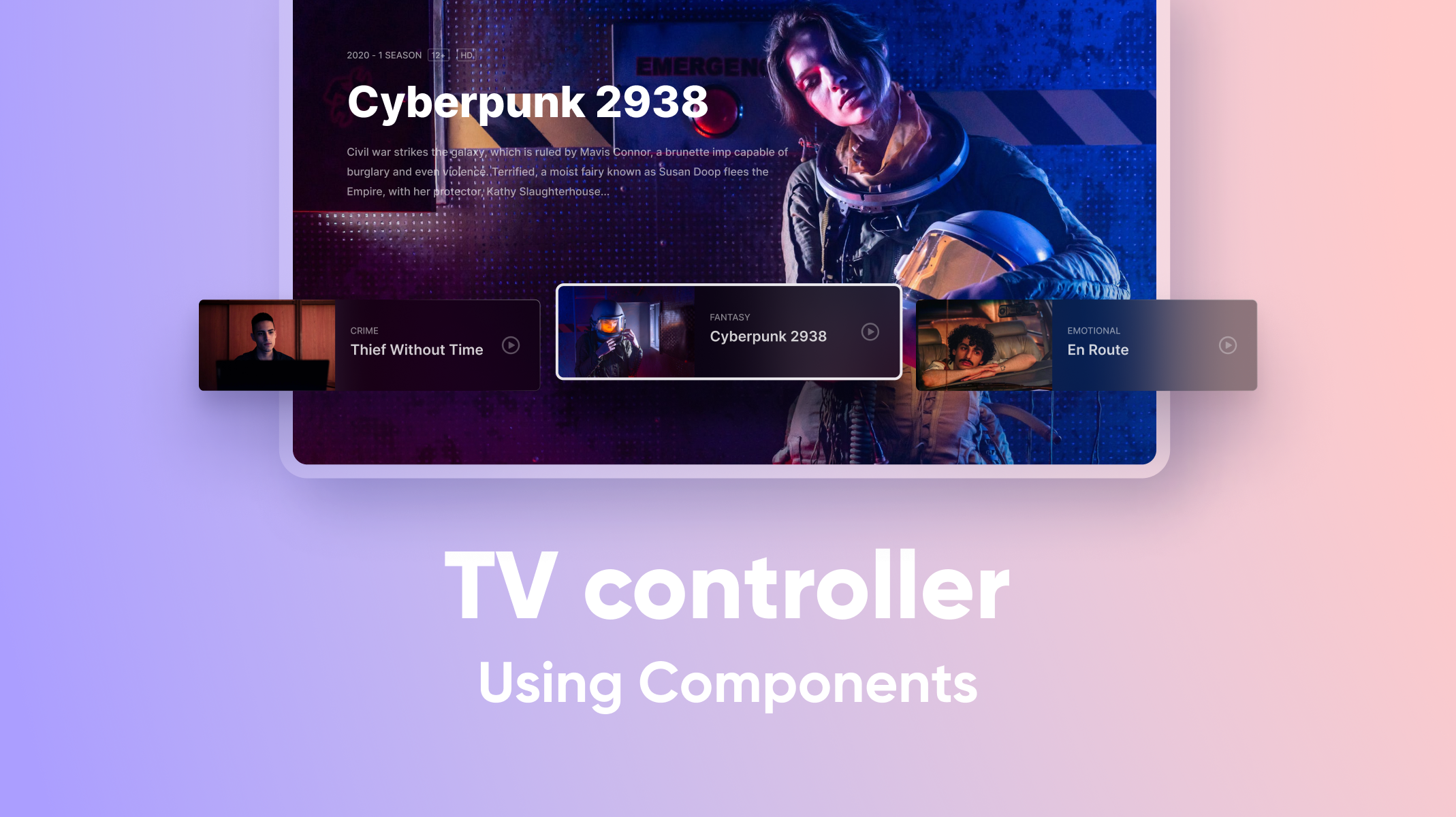 TV Controller Using Components Thumbnail