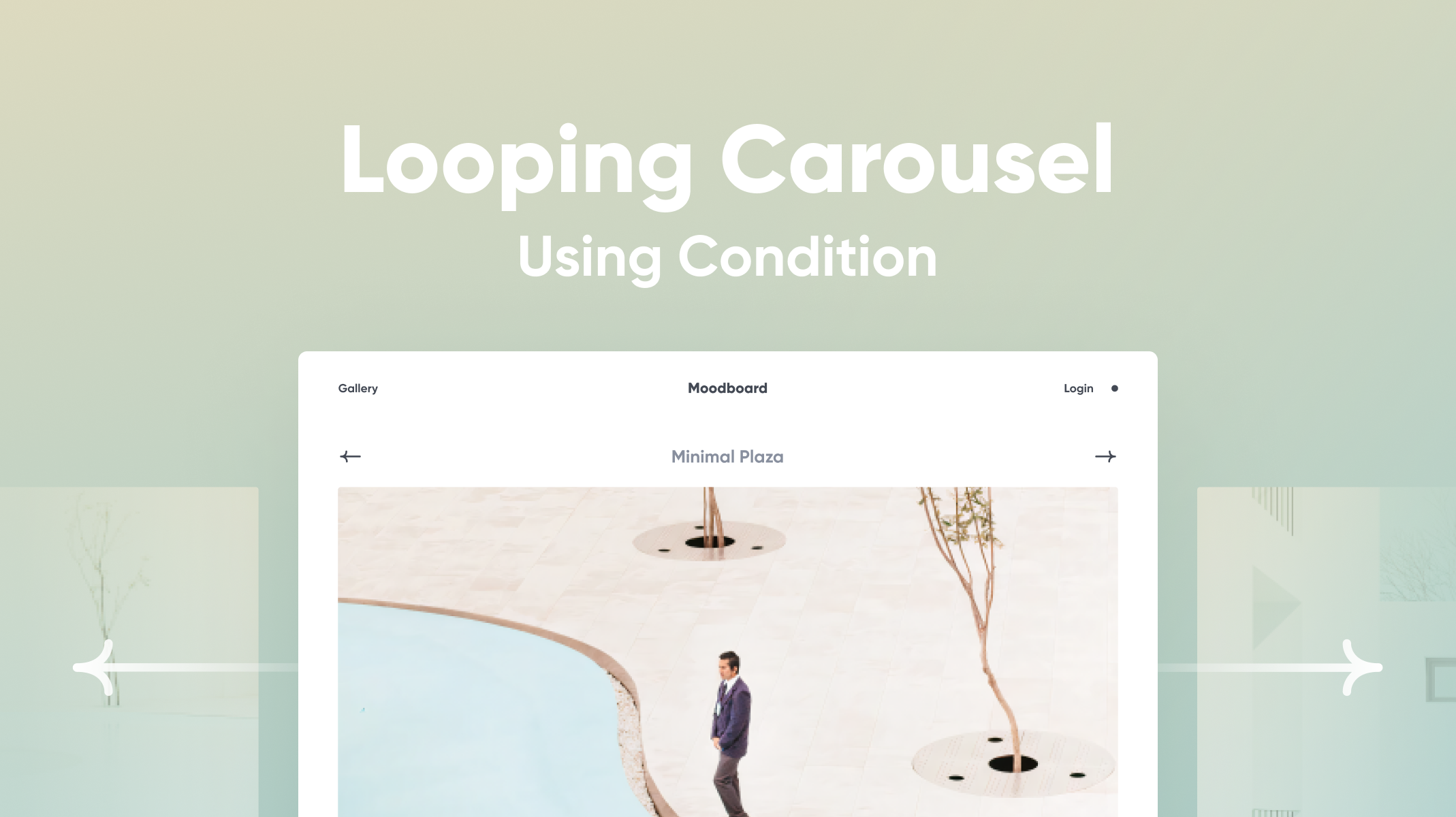 Looping Carousel Using Condition Thumbnail