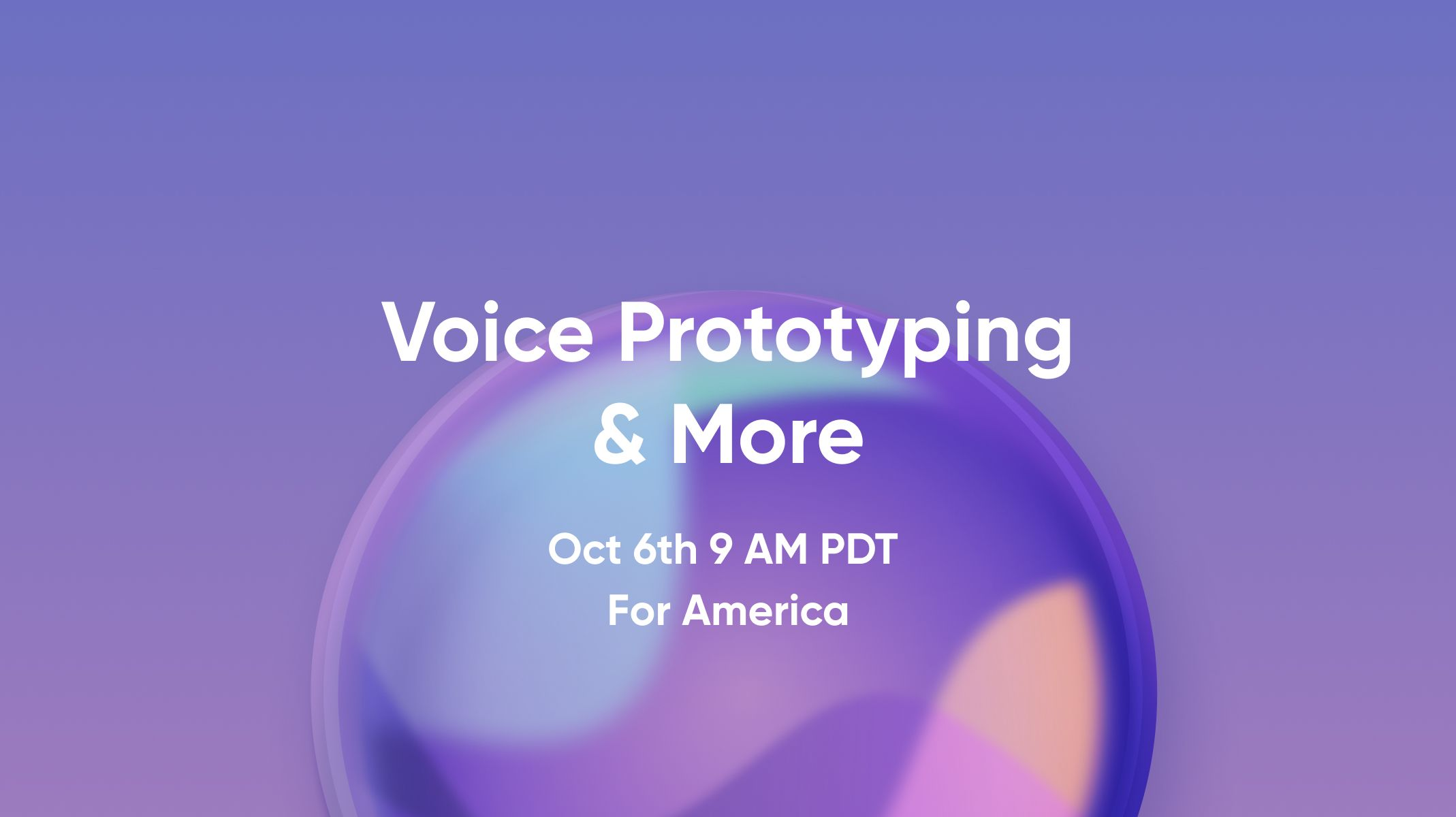 ProtoPie 5.1: Voice Prototyping & More Workshop Thumbnail