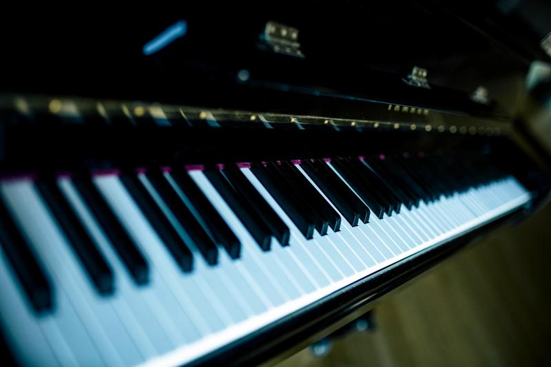 Photo of keys on a piano