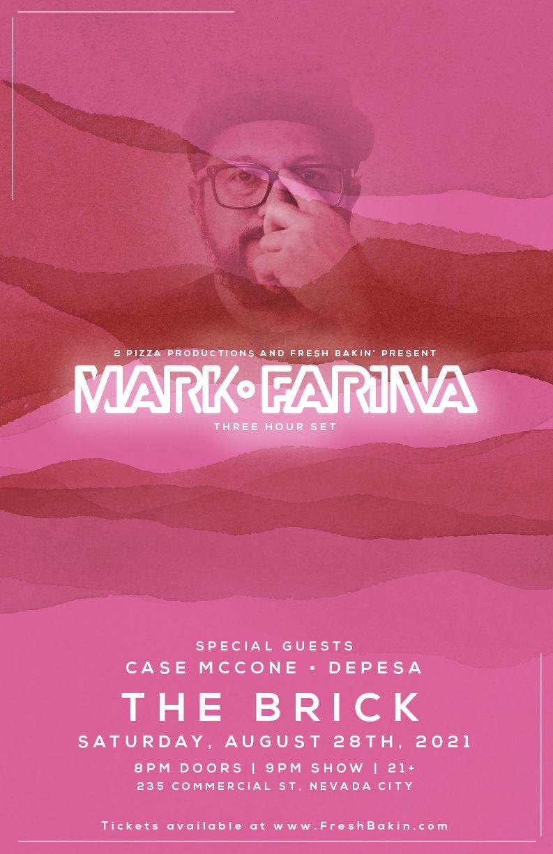 Mark Farina | FreshBakin.com