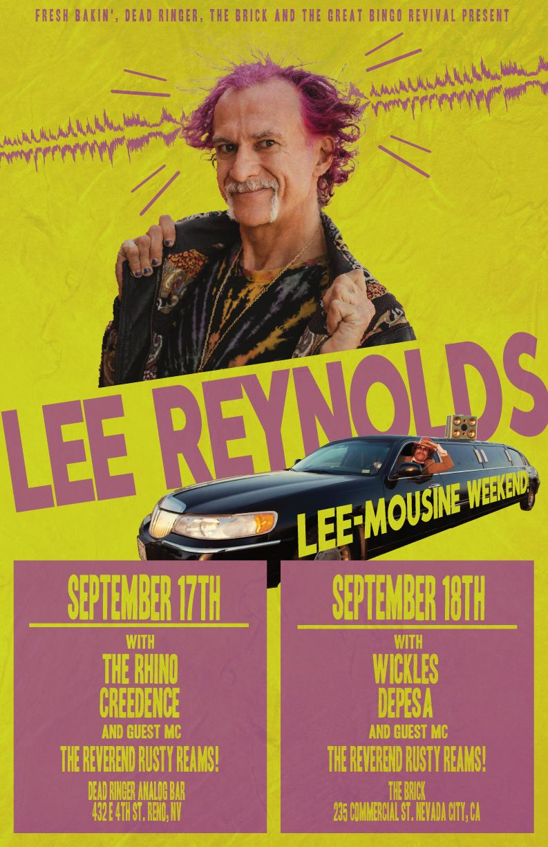 Lee Reynolds at The Brick in NV City, CA on September 18th, 2021