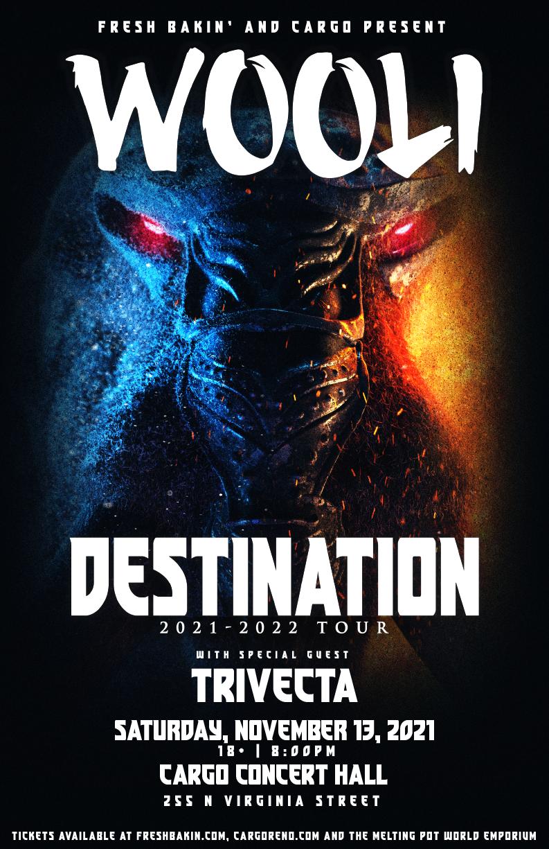 Wooli 'Destination Tour' at Cargo Concert Hall on November 13, 2021
