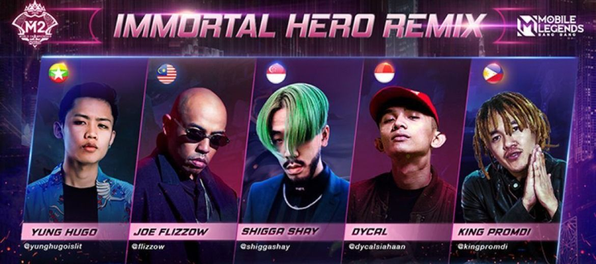 Image of Asian rappers bring hip-hop to the most popular mobile online battle game in the world