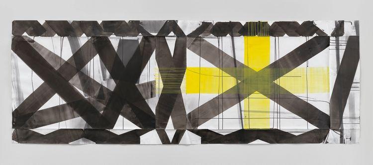 Maja Rieder, Male über Zeichnung, 2010 / 2016