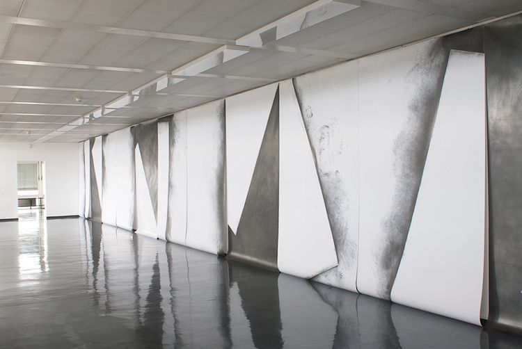 Maja Rieder, 4 x diagonal, 2009