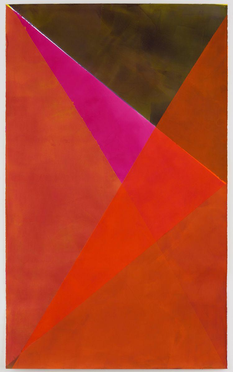 Nazareth, 2020 Tusche auf Papier 200/250 x 153 cm
