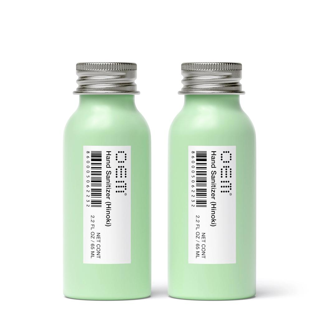 Hand Sanitizer 2 Pack (Hinoki) - Cap View