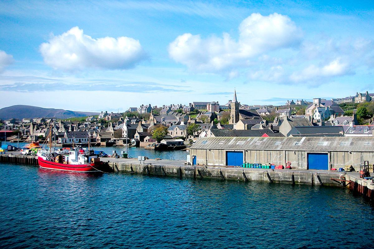 Kirkwall, Orkney Islands, Scotland