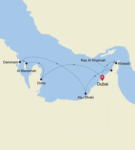 Dubai to Dubai