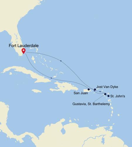 Fort Lauderdale, Florida nach Fort Lauderdale, Florida