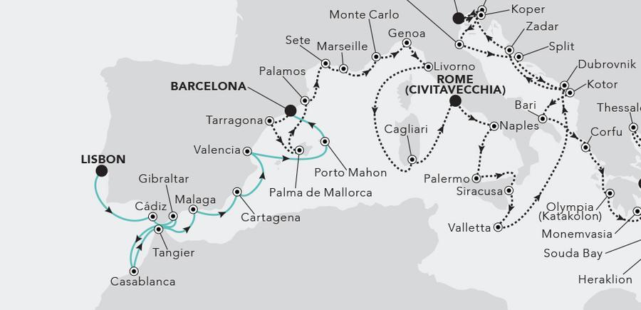 Lisbon nach Barcelona