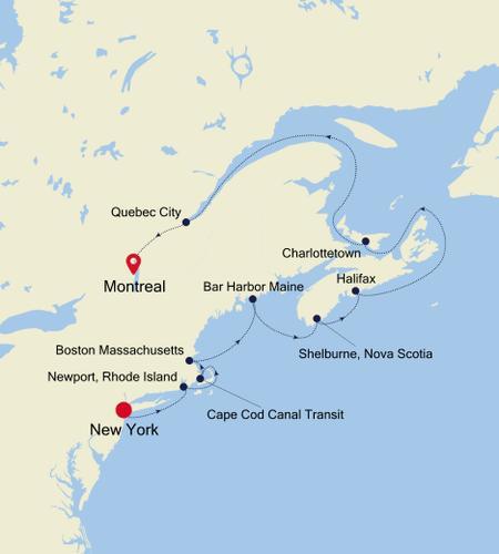 New York, NY a Montreal
