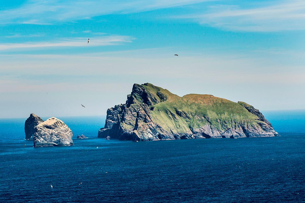 Boreray Island cruising