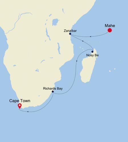 Mahe à Cape Town