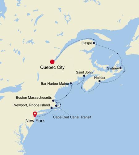 Quebec City a New York, NY