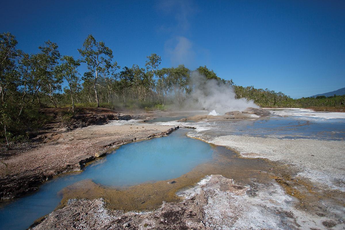 Dei Dei Hot Springs, Fergusson Island