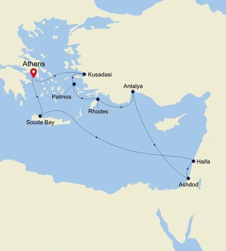 Athens (Piraeus) nach Athens (Piraeus)