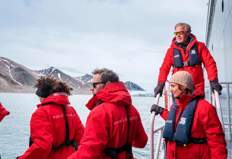 Our expedition team aboard