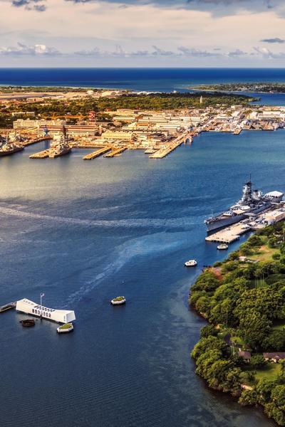 EIN ABEND AUF DER USS MISSOURI